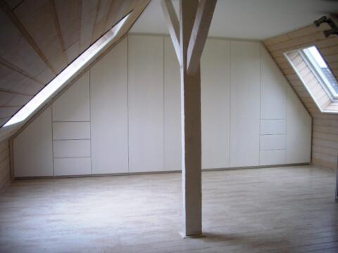 Schreiner Köln Ankleide Dachgeschoss