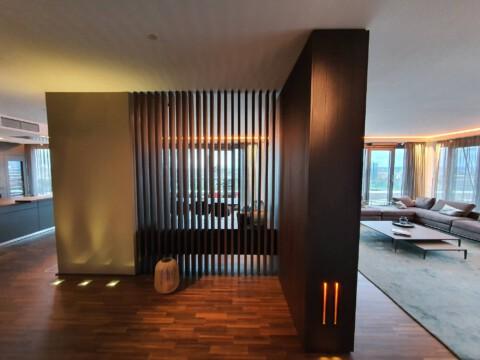 Schreinerei Köln Raumteiler Wohnwand